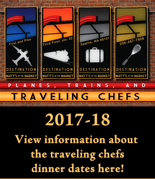 Planes, Trains, and Traveling Chefs 2017-18